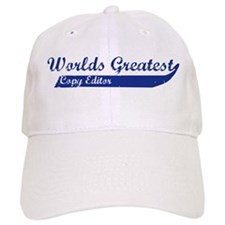 Greatest Copy Editor Baseball Cap