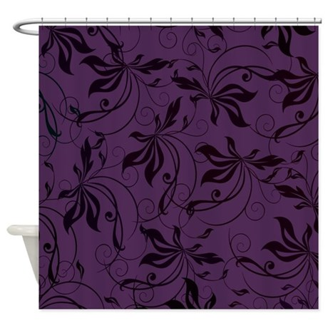 Deep Purple Shower Curtain Camel Shower Curtains