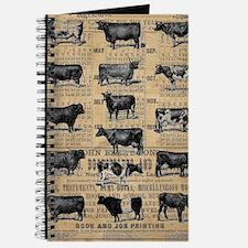 Cute Cow Journal