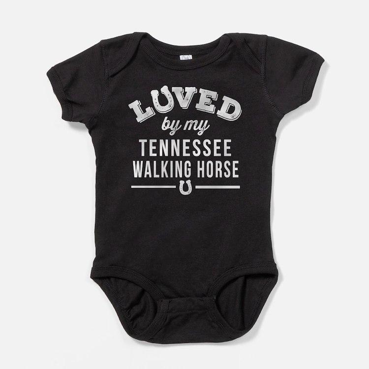 Tennessee Walking Horse Lover Baby Bodysuit