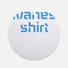 t-shirt design Round Ornament