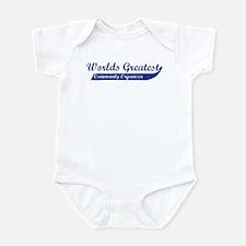 Greatest Community Organizer Infant Bodysuit