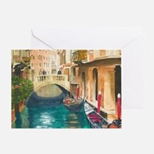 Unique Canal Greeting Card