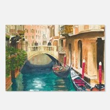 Cute Canal Postcards (Package of 8)
