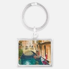 Funny Watercolour Landscape Keychain