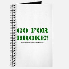 go for broke Journal