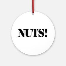 Nuts Ornament (Round) Ornament (Round)