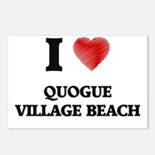 I love Quogue Village Bea Postcards (Package of 8)