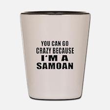 Samoan Designs Shot Glass