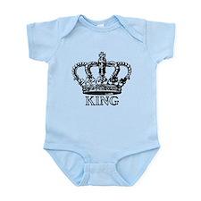 King Crown Infant Bodysuit
