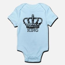 King Crown Infant Bodysuit