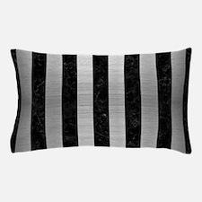 STR1 BK MARBLE SILVER Pillow Case
