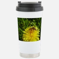 Cute Bees and dandelion Travel Mug