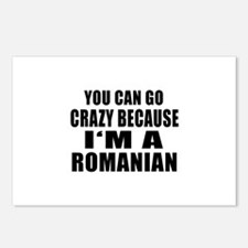 Romanian Designs Postcards (Package of 8)