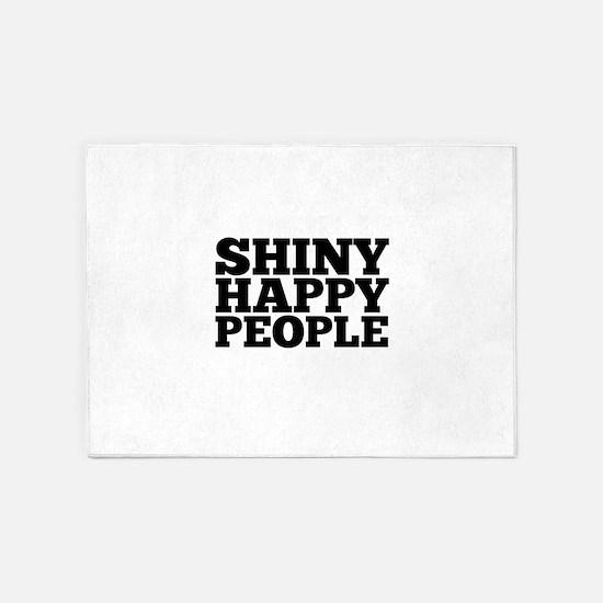 Shiny Happy People 5'x7'Area Rug