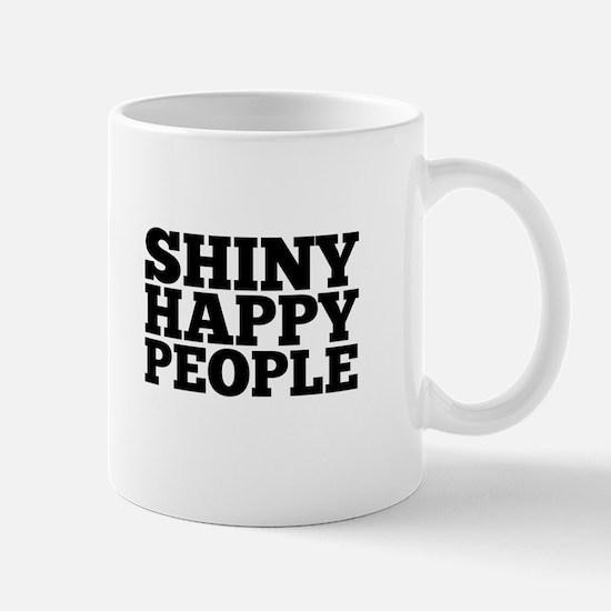 Shiny Happy People Mugs