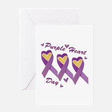 Purple Heart Day Greeting Cards