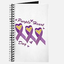 Purple Heart Day Journal