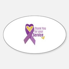 For Service Decal