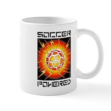 Soccer Powered (Yellow, Red) Mug