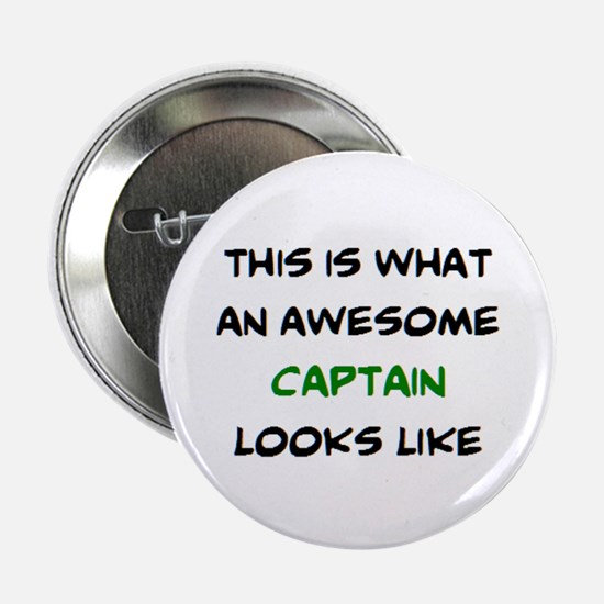 "awesome captain 2.25"" Button"