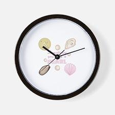A Pearl Wall Clock