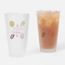 A Pearl Drinking Glass