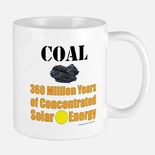 Coal Concentrated Solar Mugs