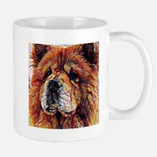 Chow Chow: A Portrait in Oil Mug