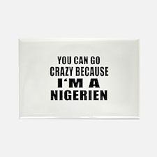 Nigerien Designs Rectangle Magnet