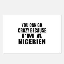 Nigerien Designs Postcards (Package of 8)