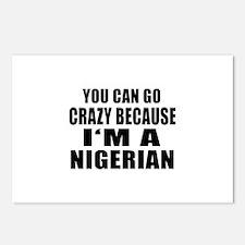 Nigerian Designs Postcards (Package of 8)