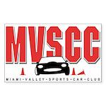 MVSCC Logo Rectangle Sticker