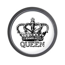 Queen Crown Wall Clock