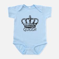 Queen Crown Infant Bodysuit