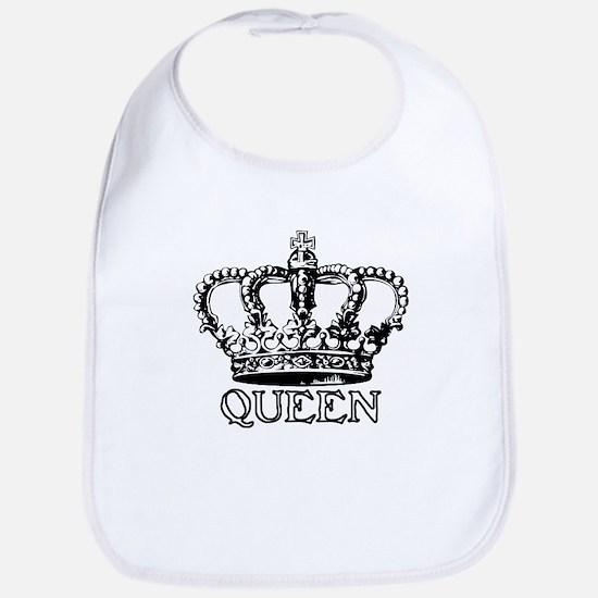 Queen Crown Bib