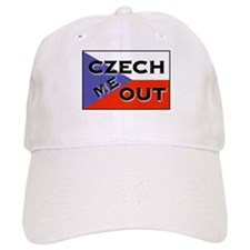 CZECH ME OUT Baseball Cap