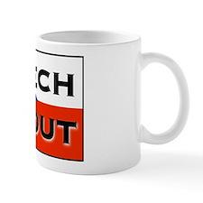 CZECH ME OUT Small Mug