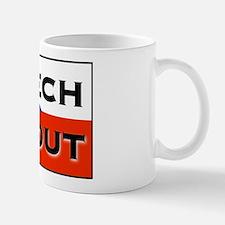 CZECH ME OUT Small Small Mug