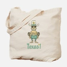 Vintage welcome to Texas art Tote Bag