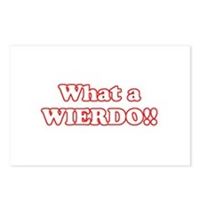 What a Wierdo! Postcards (Package of 8)