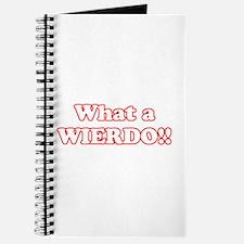 What a Wierdo! Journal