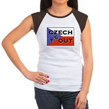 CZECH ME OUT Women's Cap Sleeve T-Shirt