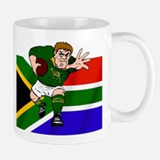 Rugby forward South Africa Mug