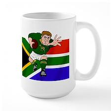 Rugby forward South Africa Mug