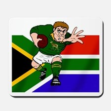 Rugby forward South Africa Mousepad
