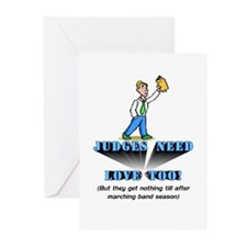 Judges need love too Greeting Cards (Pk of 20)