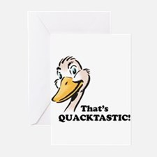 That's Quacktastic! Greeting Cards (Pk of 20)
