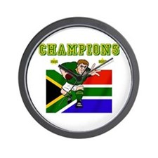 South Africa Rugby Wall Clock