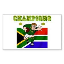South Africa Rugby Decal